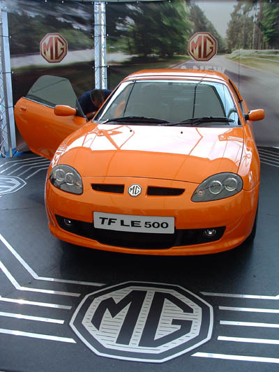 Ford Vin Lookup >> MG TF (MGMotor UK) | The MG Owners' Club