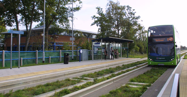 MG Owners' Club and Guided Busway