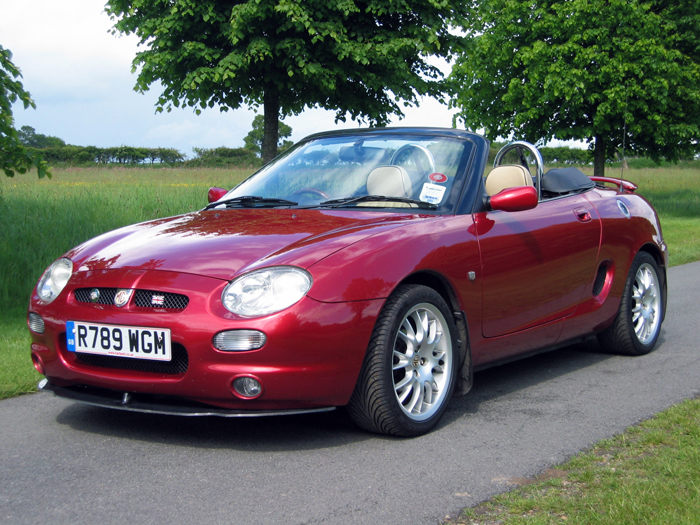 Car Vin Lookup >> MGF with chrome roll hoops | The MG Owners' Club