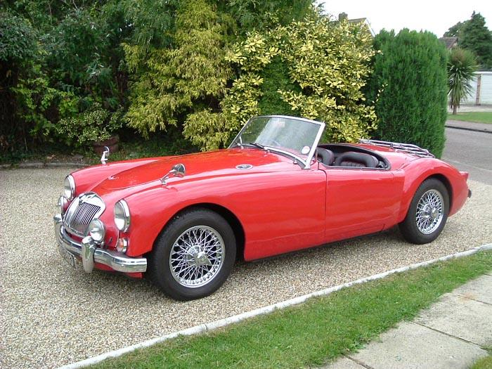 This is my MGA haven't had her long but boy I love her :)