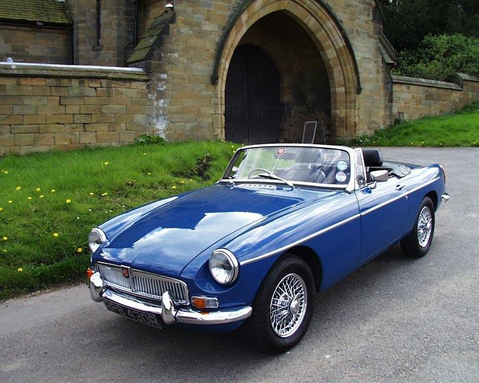 This is my other MG ....hmmm I love it...only had her for about a year now