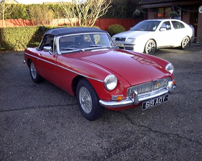Traded in my 1965 Ford Anglia for this beauty. It was restored in 1999 by Steven Constable, I bought it on Christmas Eve - seeing as no-one else was going to buy it for me!!