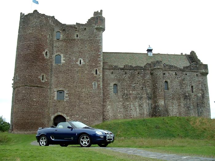 Another pic from the Callander Classic 2003 trip. This time, we visit the home of the Holy Grail!