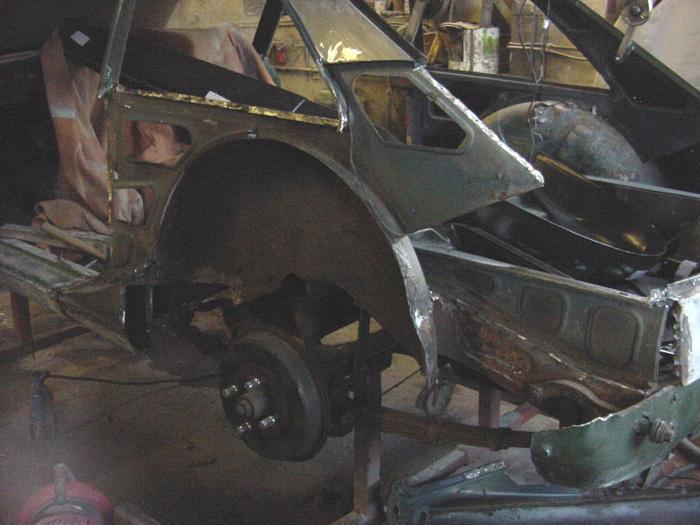 My MG under restoration