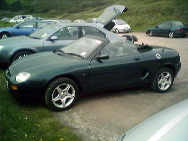 The best car I have ever owned. What worries me now is - what next? I think another MGF
