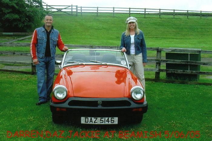 JACKIE DARREN & DAZ 5146 AT BEAMISH