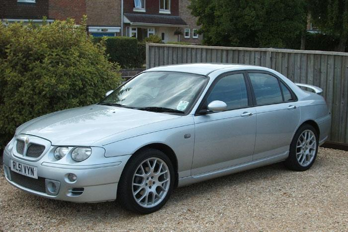 My recent buy a 2002 MGZT 160+ in Zircon Silver