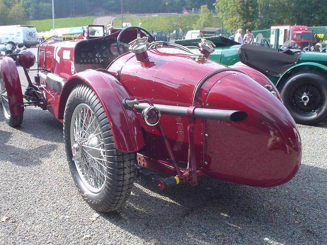"Rear shot of MG K3- taken after practice at the ""Spa Six Hours"" races in Francorchamps (September 23, 2005)"