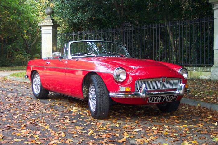 Our new acquisition after a fabulous day touring the Kent and Sussex countryside during our Indian summer '05