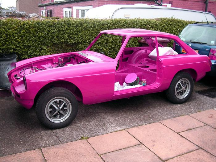 Pink GT for Sandra.