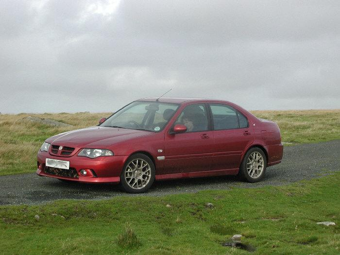 ZS on Bodmin Moor at the end of a long day.  We caught plenty of leaves in the floods but no trout.