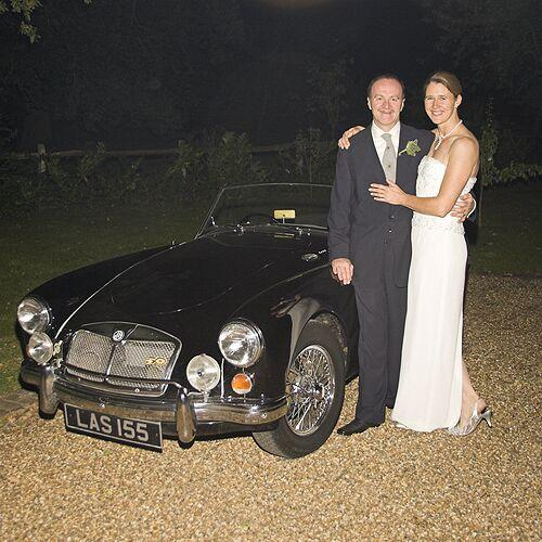 The evening of our wedding Day, 24 Sept 2005. Great car - FANTASTIC wife.. what more could a man want!!