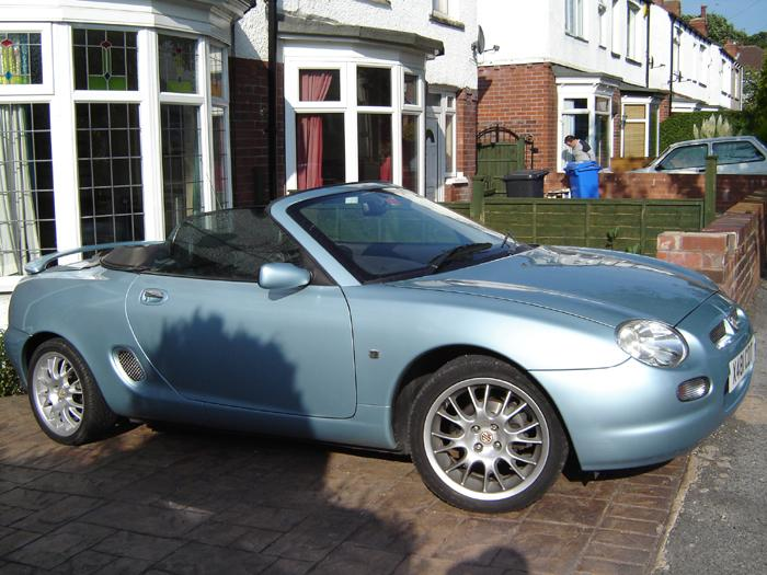 Goodbye 67 GT, Hello MGF SE. Couldn`t keep up with bodywork as an `every day user`