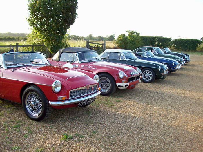 A nice line up of Cs at our recent Meeting in East Kent.