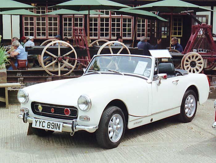 Tenterden Kent MG rally 2006