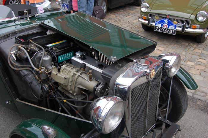 Supercharger on MG engine