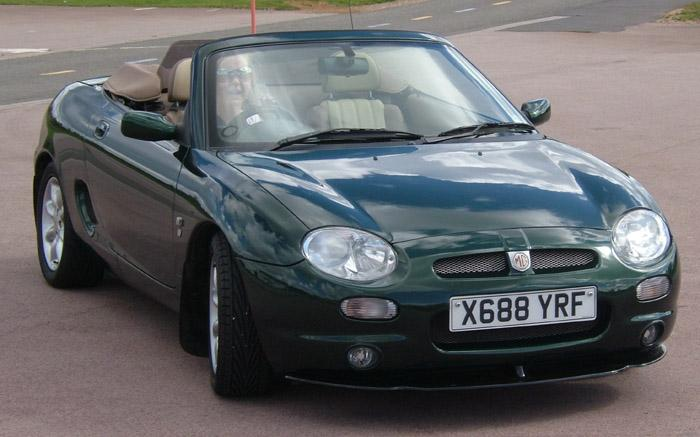 Kim Getting use to my MGF
