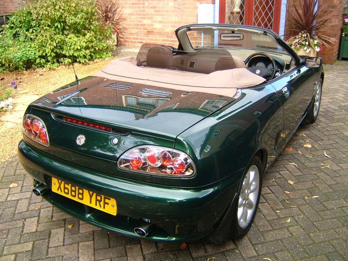 Rare bronze Lexus style rear lights!