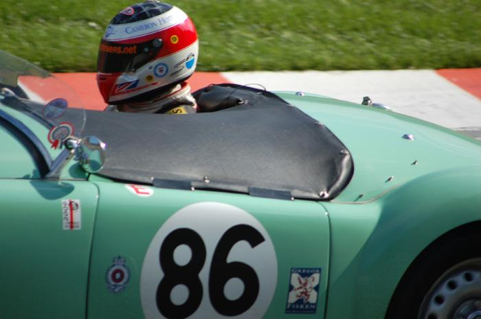 RAC Woodcote Trophy - MGA close up