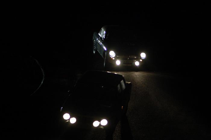 Six Hour endurance race - Bill Kirkpatrick chasing at night !!