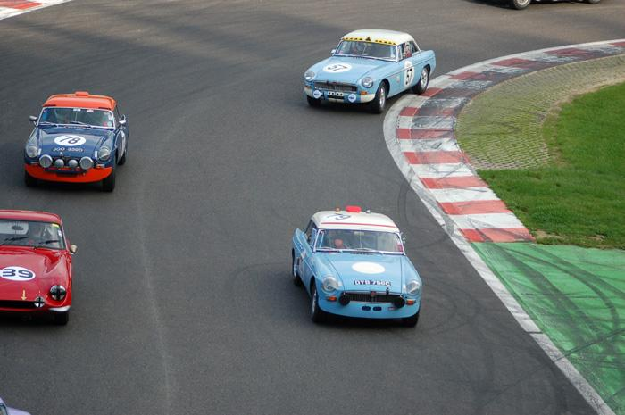Six Hour endurance race - early stage of the race