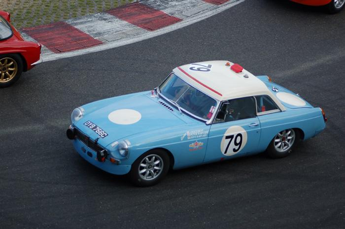 Six Hour endurance race - Tony Barnard's MGB