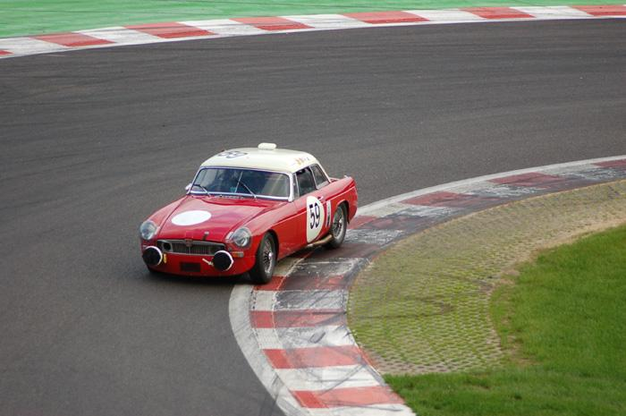 Six Hour endurance race - Alec Poole's MGB