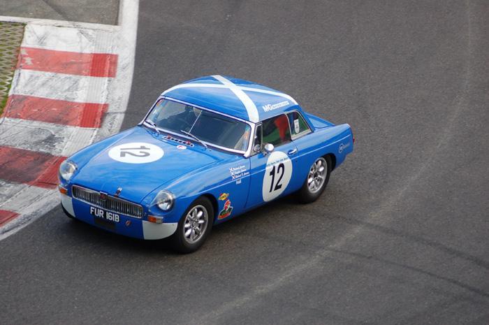 Six Hour endurance race - Richard Lawson's car