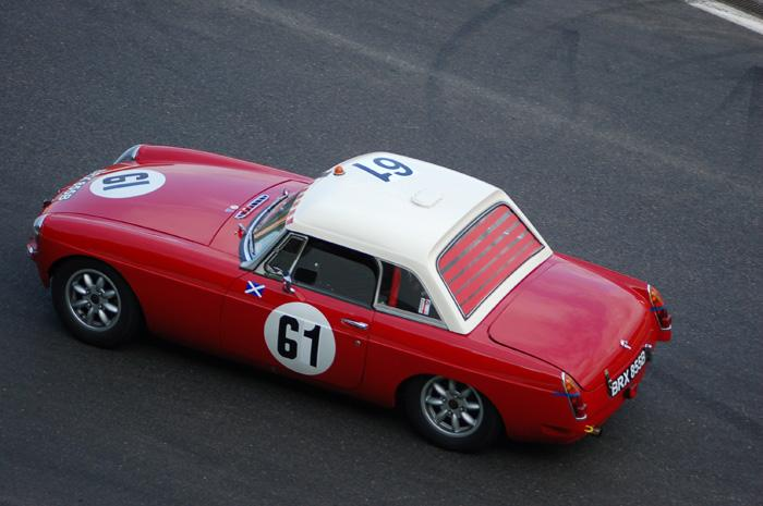 Six Hour endurance race - John Foster's car