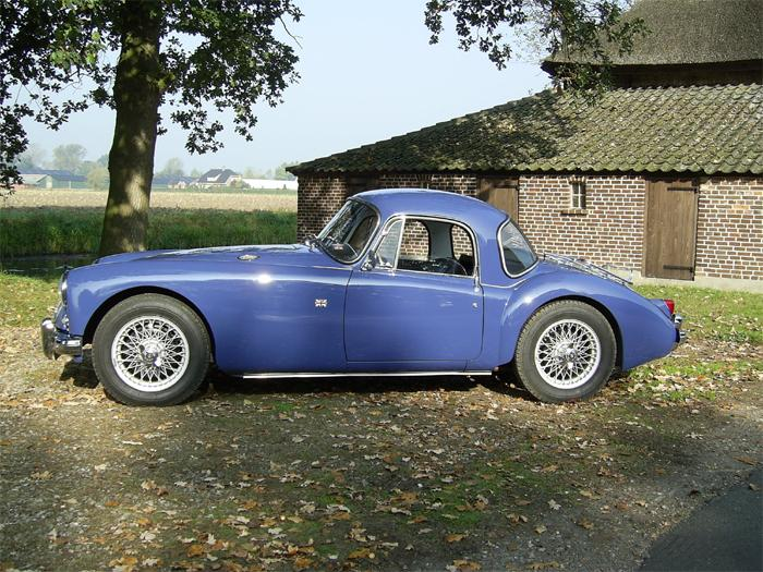MGA 1500 Coupé Mineral Blue