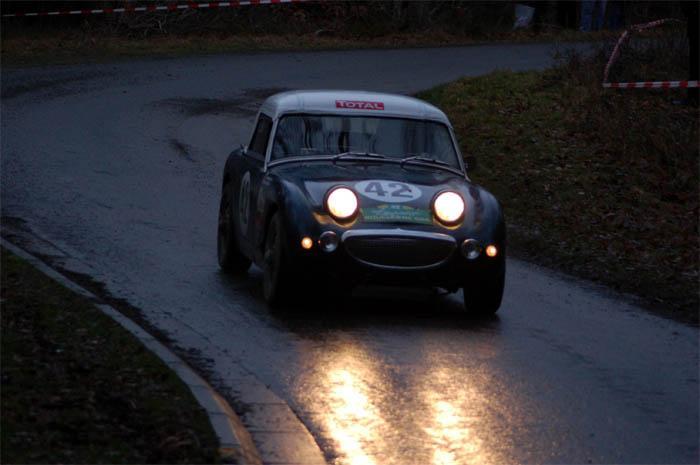 Austin Healey Frogeye driven by Stephane Henrard - RT Creppe