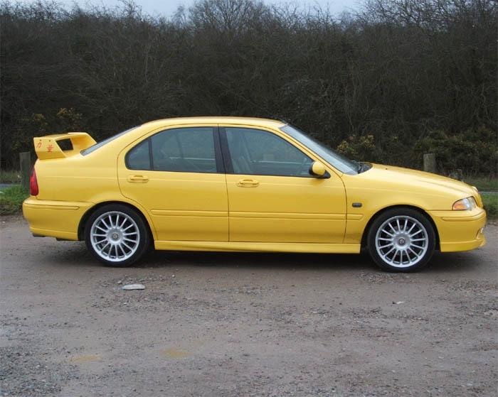 N/S MG ZS 180 untouched but not for long