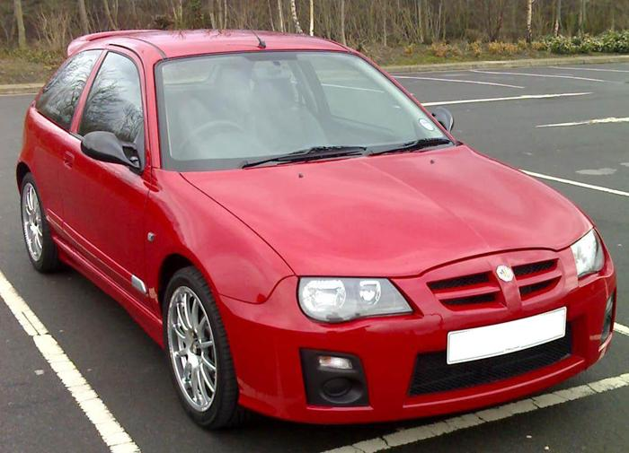 MG ZR105 WITH A FEW MODS, WHAT DO YOU THINK?