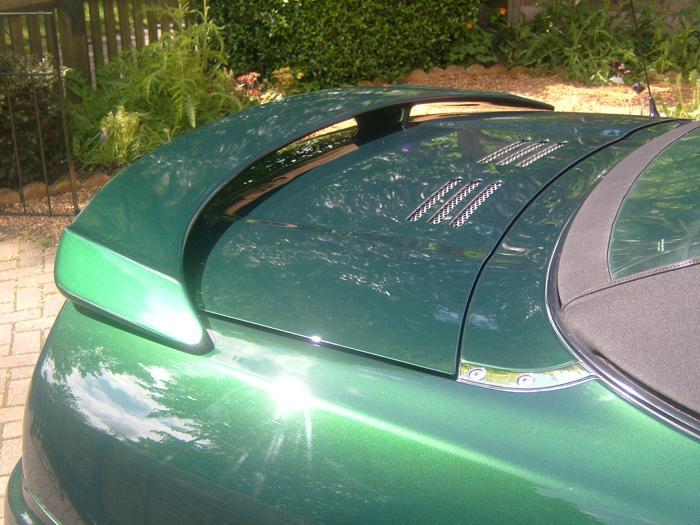 New rear spoiler.