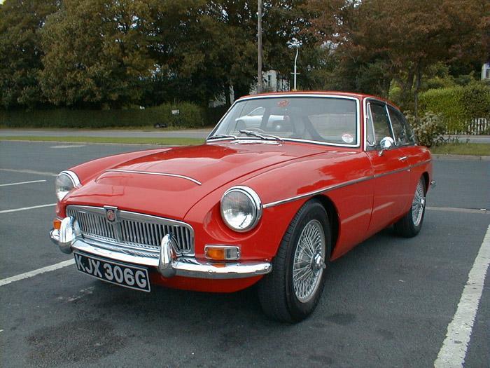 MGC GT supplied by Ian Orridge