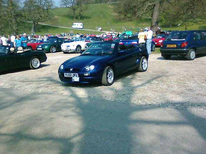 At Chatsworth just before doing the Kimber run.