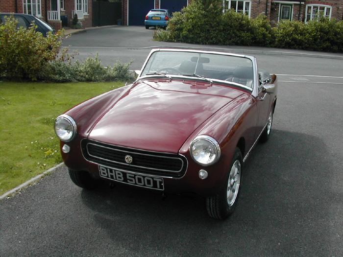 Here is Marge with new paint, wheels, interior just off for mot....fingers crossed
