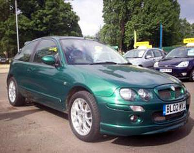 This is my Lemans Green MG ZR+ True Love :)