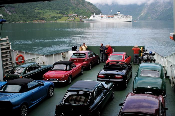 All aboard a ferry