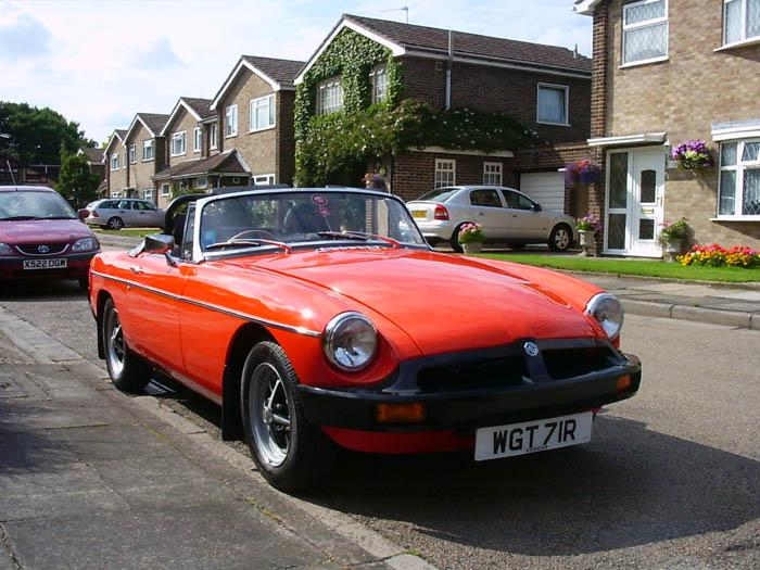 My MGB restoration nearing completion, at last!!