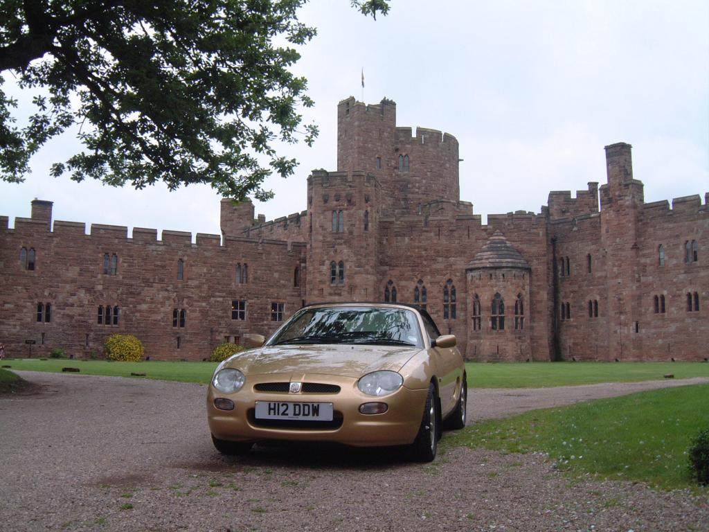 MGF at Peckforton Castle
