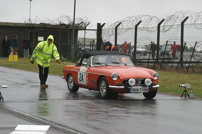 A very wet Barkston Heath Sprint, August 2006