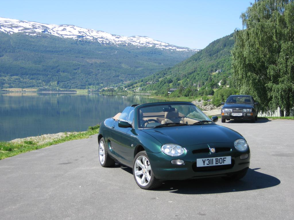Taken just outside Voss on completion of a Western Fjords tour. The Jottunheim Mountains were a great drive.