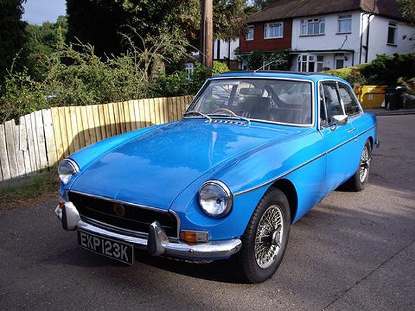 My first classic car.