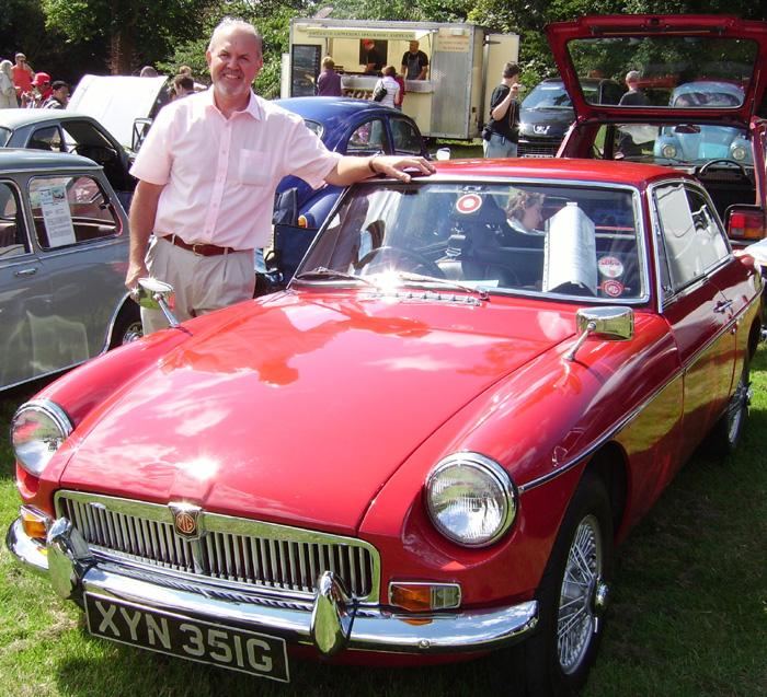 My newly acquired Tartan red 69 MGB GT