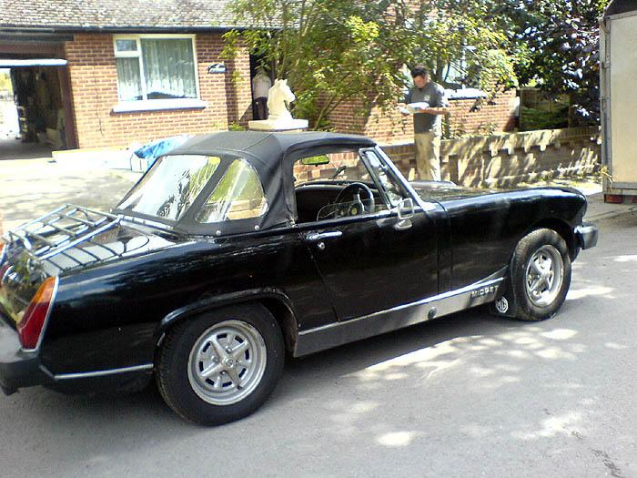 Black MG Midget 1500