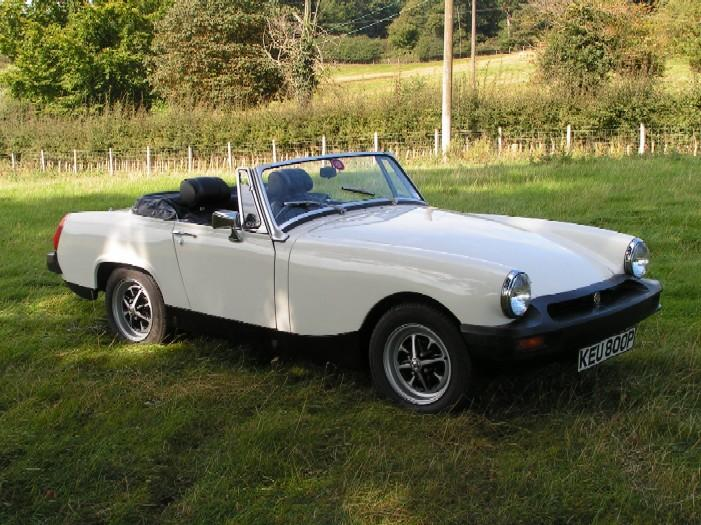 After 12 years of on and off restoration, my MG Midget finally went back on the road.