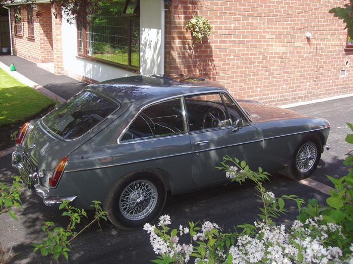 1967 MGBGT Grampian Grey