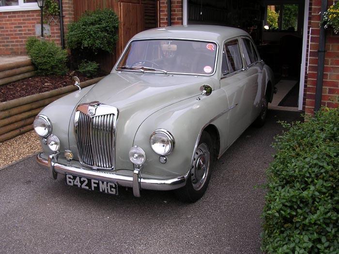 My 1955 MG ZA