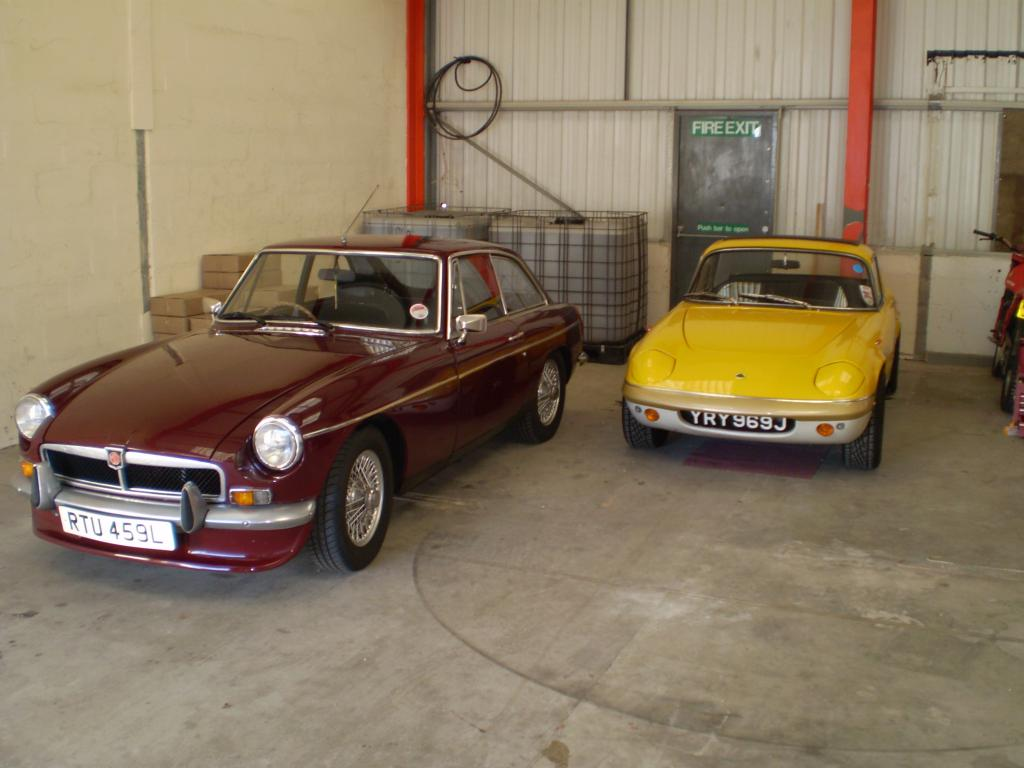 my first bgt, in good company, next to my dads elan.